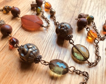 Beautiful hand crafted necklace
