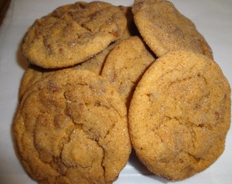 Homemade Pumpkin Snickerdoodles With Cinnamon Chips (3 Dozen)
