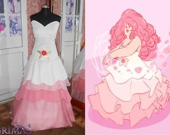 Rose quarts Cosplay dress hand made