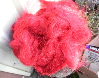 Angelina Fiber Fire Engine Red Sparkle 1 Ounce