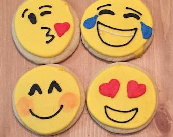 Emoji Sugar Cookies