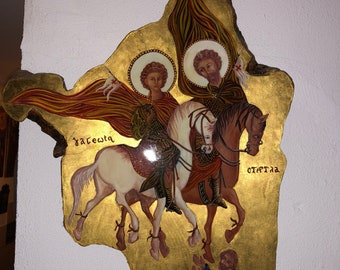 Saint George and Saint Theodore