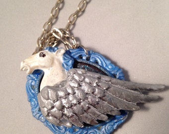 3D Pegasus Necklace