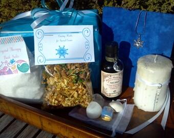 Yule Ritual Kit, Winter Solstice, Seasonal Ritual Kit, Winter Solstice Ritual Kit, Yule Kit, Yule Christmas Altar, Yule Sabbat Rite