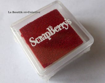 Mini Red Pigment Inker ScraBerry's new!