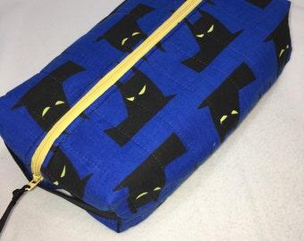 "Batman Box bag/Toiletry bag 10""x5""x3"""
