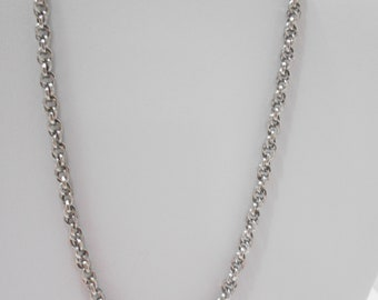 Vintage Emmons Triple Link Choker Necklace (0252)