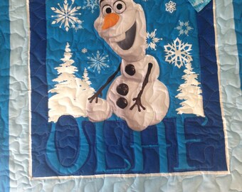 Olaf Baby Quilt