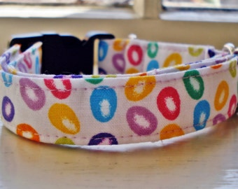 Easter Eggs - Eco Dog Collar (Wide)