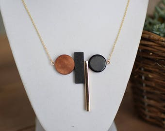 Abstract Geometric Necklace