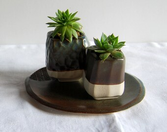 Plant pot, Flower pot, Plant holder, Ceramic and pottery, Succulent pots, Cactus pots, Mom gift, Housewarming gift, New home gift, Handmade