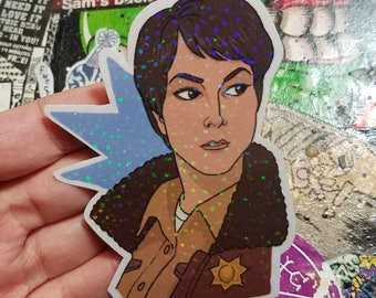 Holographics Sticker - Sheriff Jody Mills