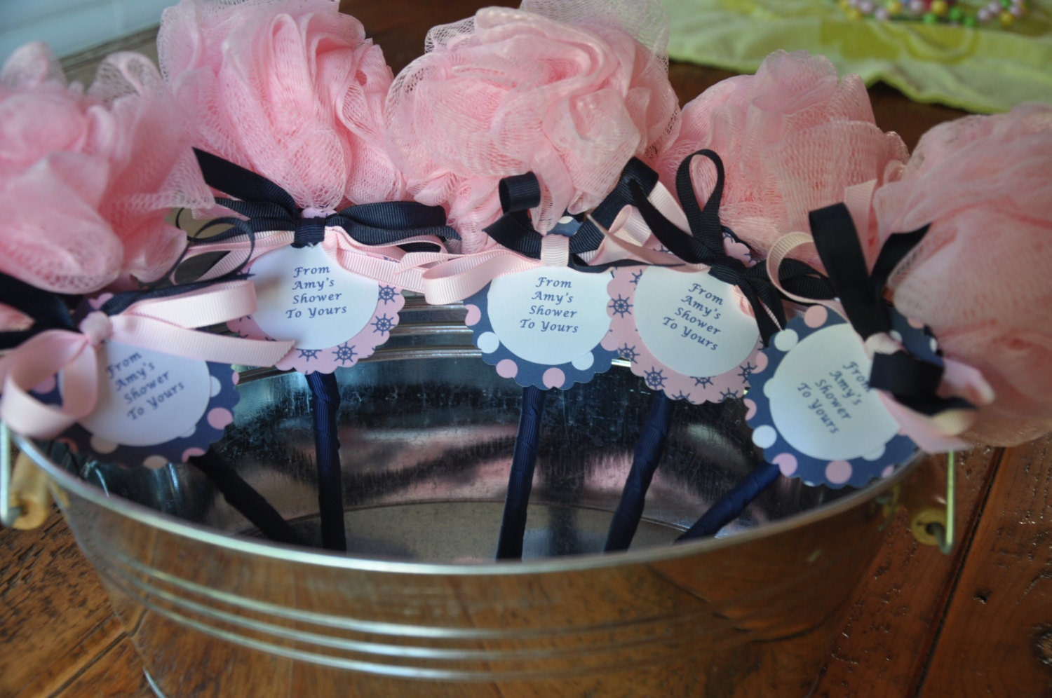 Unique Girl Baby Shower Favors Nautical Pink and Navy...