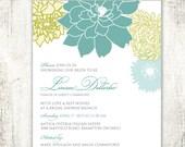 Floral BRIDAL SHOWER Invi...