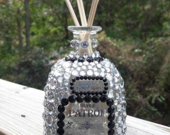 Bling Liquor Bottle//Reed Diffuser//Patron Bling Bottle//Birthday Bling Bottle//Bling Bottle//Vodka//Tequila//Cognac//Whiskey//Rum//Patron//