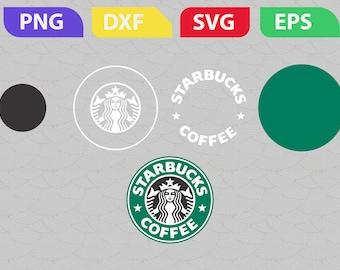 Starbucks coffee Custom starbucks Digital file Starbucks svg Starbucks decal Starbucks logo Starbucks coffee svg Starbucks digital svg files