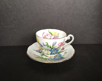 "Royal Standard ""Winsome"" Iris Bone China"