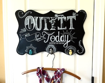 Outfit for Today Hanging Rack