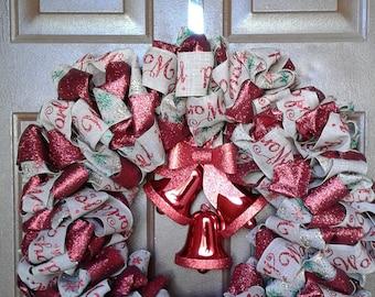 Tri- Ribbon Wreath