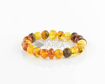 Baltic Amber Bracelet Adults // 5826