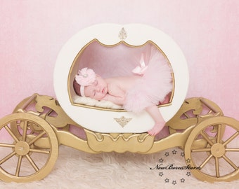 Light pink tutu and headband  perfect for Newborn pictures, special occassions, birthdays and many more
