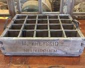 Vintage German Beer Crate...