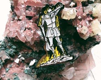 Fahrenheit 451 Soft Enamel Lapel Pin