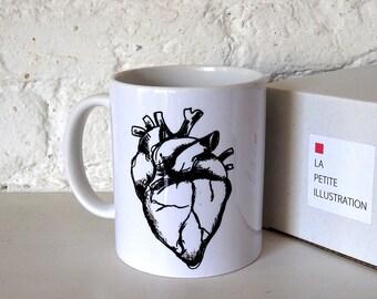 Black Heart mug.