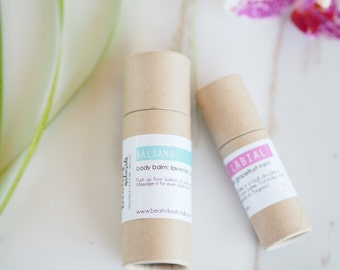 Organic Solid Lotion Bar - Organic Lotion Tube - Lotion Bar - Body Lotion - Teacher Gift- Body Butter - Hand Lotion - Stocking Stuffer