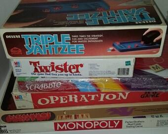 Bundle 7 Mostly Vintage Complete Board Games
