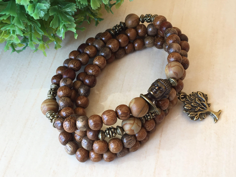 Geschenke Muttertag 108 Tibetische Armband Perlmutt Tiger