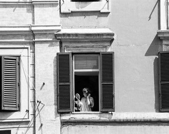 Woman in the Window Fine Art Photograph