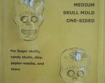 Medium Sugar Skull Mold - Day of the Dead