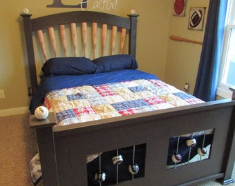 Kids Baseball Theme Bed