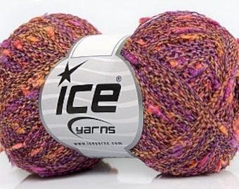 Wool 375m / 50 grams / Lavender Orange