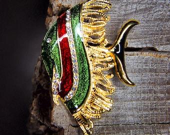 Angel Fish Brooch #5474