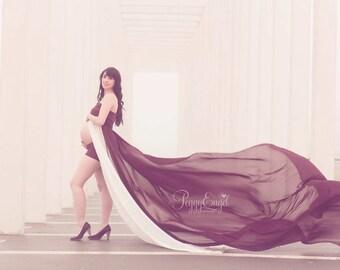 Gerbera dress / Maternity Gown Photography