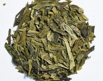 DRAGONWELL | Organic Green Tea |  Long Jing | Loose Leaf and Tea Bags | Tea Tin | Iced Tea | Eco-Friendly