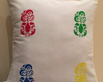 NZ Tiki cushion cover
