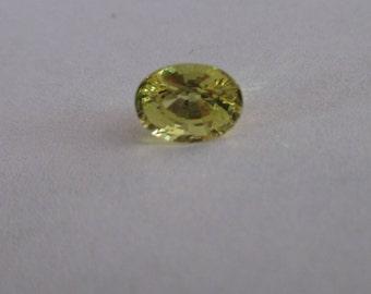 Natural yellow Sapphire 1.2 carats