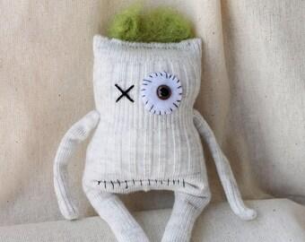 Sock Monster – Moss – Mini Size