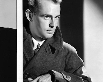 ALAN LADD PHOTO #8