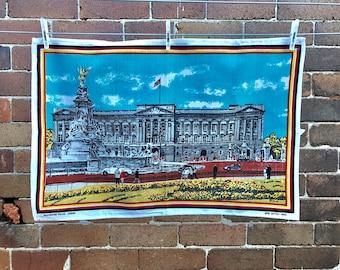 Buckingham Palace - unused vintage cottom teatowel