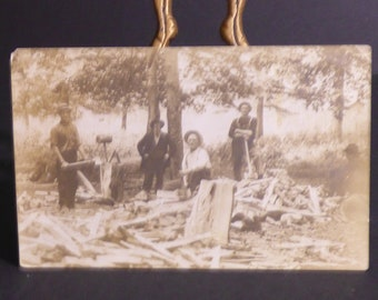 Pre 1911 real photo postcard