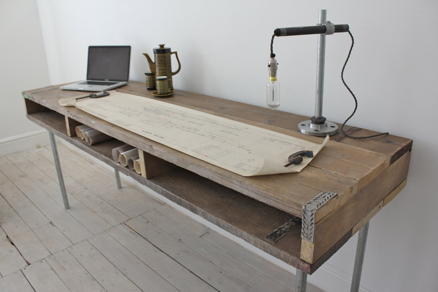 Long Office Table. Extra Long Office Desk. 🔎zoom Desk S Table I