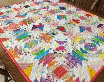 Pineapple delight quilt