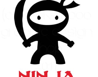 Ninja Cut File | Silhouette Cut File | Cricut Cut File | SVG Cut File | Commercial Use SVG