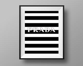 Prada Marfa Print 01 Prada Glitter Wall Prada Logo Fashion