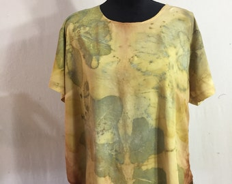 Women's Eco Dyed  Rayon top
