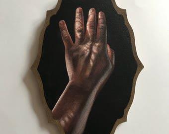 SALE Shadowed Hand